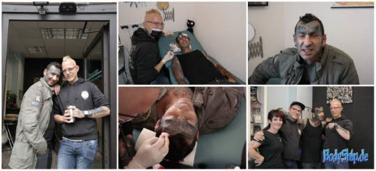 Bodymodification Galerie - professionell bodymodification und piercen-lernen